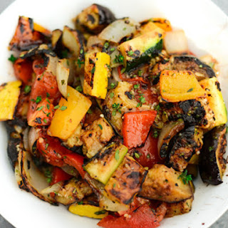 Grilled Ratatouille.