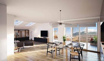 Appartement 2 pièces 49,67 m2