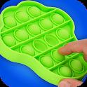DIY Pop it Fidget toy! Calm ASMR Game icon