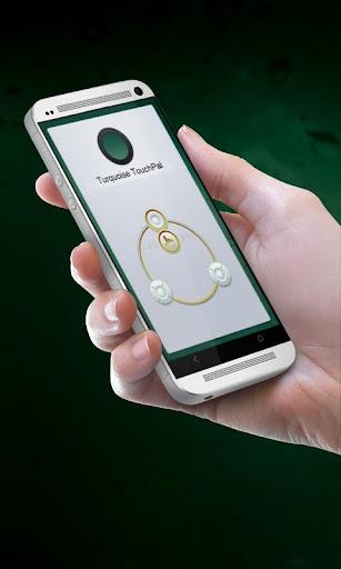 綠松石 TouchPal 主題