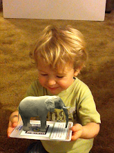 """Photo: He lit up, and just kept saying """"Look at the little cute, Mommy!"""" And he listened intently to each tutorial. Score!!"""
