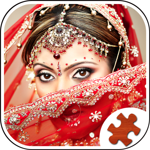 Indian Girl Jigsaw Puzzle