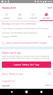Telstra Air- screenshot thumbnail