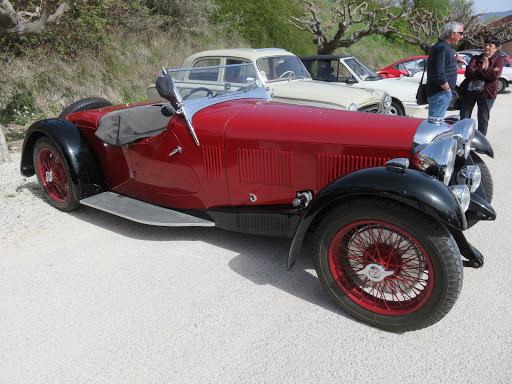 .Alvis Type Speed Twenty 1933 Carrosserie unique par Vanden Plas Londres