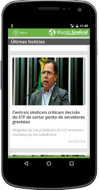 Mundo Sindical- screenshot