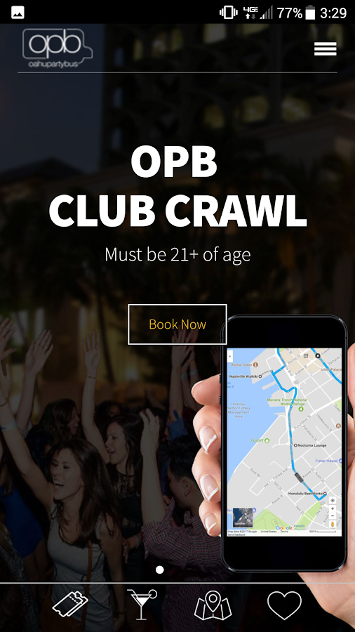 OPB Club Crawl- screenshot