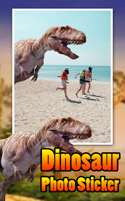 Dinosaur Photo Sticker - screenshot