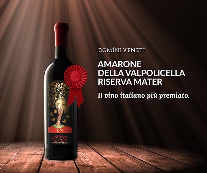 Amarone Mater - Kiệt tác rượu vang. Ảnh: GooglePhoto