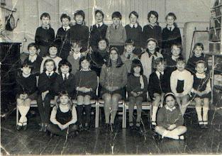 Photo: Wateringbury School Class Photograph late 1960's