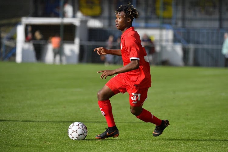 Un jeune du Standard a séduit pour sa première avec le Congo