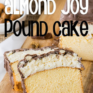 Super Easy Almond Joy Pound Cake