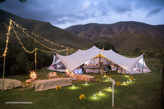 Photo: The Pat Busch wedding meadow venue