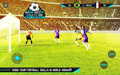 Real Soccer World Cup 2018 Real Football Game 1.0 screenshots 7