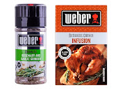 Try these brilliant seasonings from Weber.