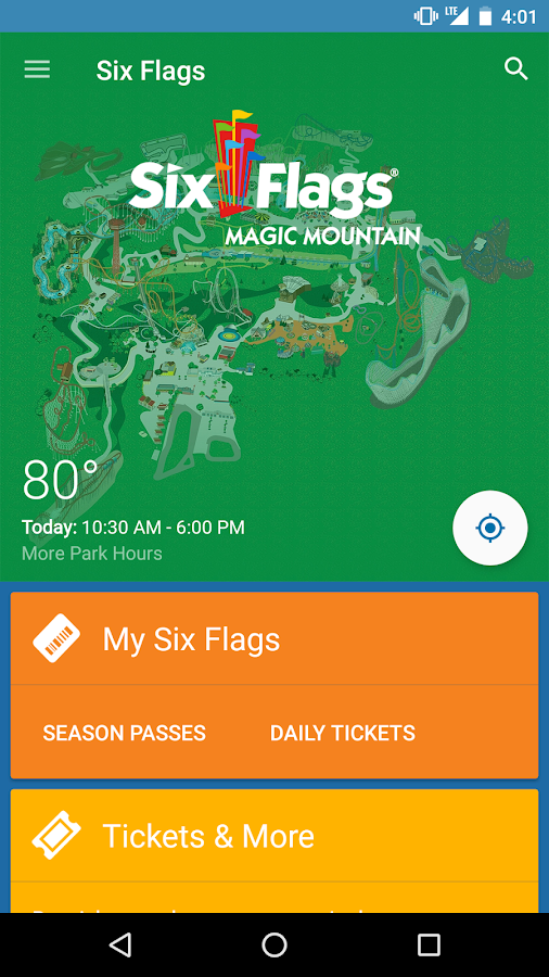 Six Flags- screenshot