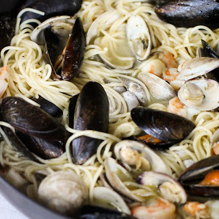 Garlic Butter Sauce Clams Pasta Recipes