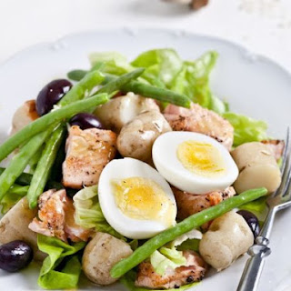 Boiled Egg and New Potato Salad