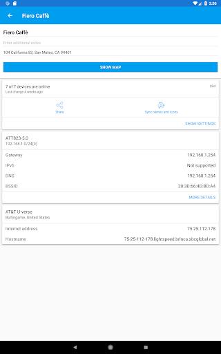 Fing - Network Tools 7.3.1 screenshots 12