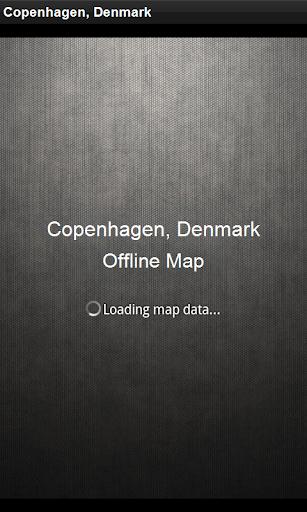 Map Copenhagen Denmark