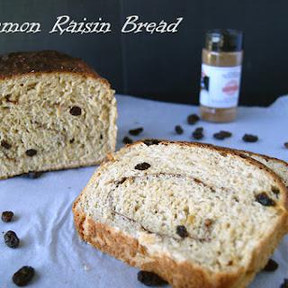 Quick Cinnamon Raisin Bread.
