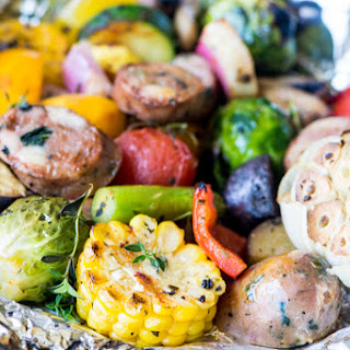 Sausage and Veggie Grill Packets Recipe