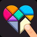 Polygrams - Tangram Puzzles icon