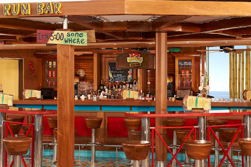 CCL_Horizon_RedFrog Rum Bar_2472close up.jpg - You're on vacation! Order a rum drink at the RedFrog Rum Bar on Carnival Horizon.