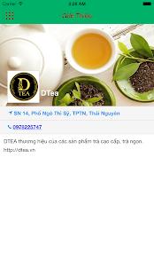 DTea - náhled