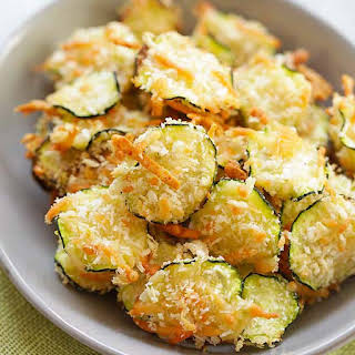 Parmesan Zucchini Chips.