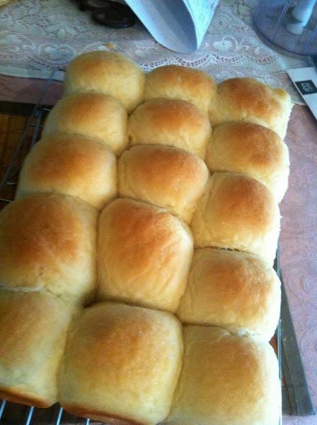 Soft And Moist Potato Rolls Recipe