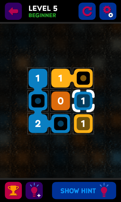 Join Nums - Puzzle Game- screenshot