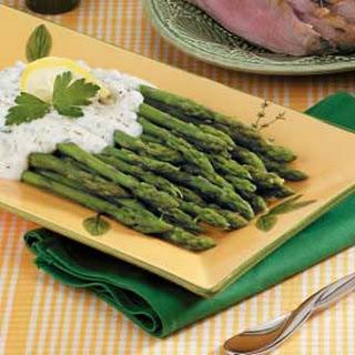 Asparagus With Sour Cream Sauce Recipes