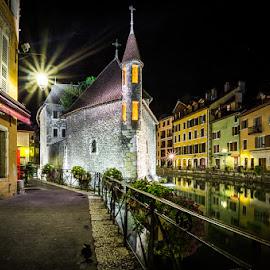 Palais de l'Isle, Annecy by Stefan Tiesing - Buildings & Architecture Public & Historical