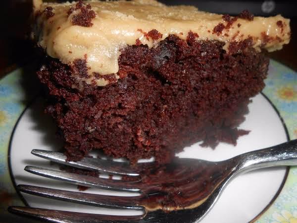 Shut-the-front-door No-egg Chocolate Cake