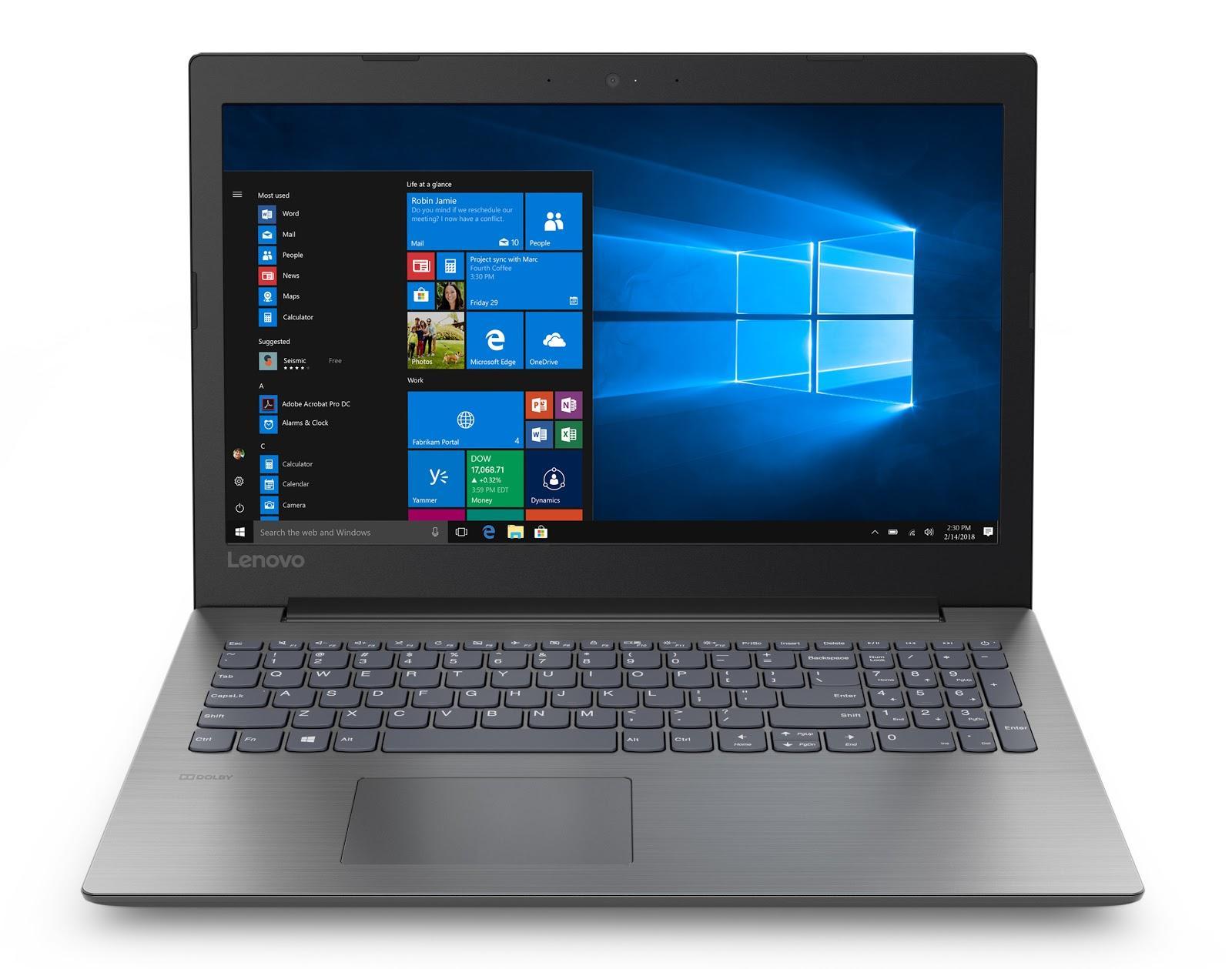 Фото 4. Ноутбук Lenovo ideapad 330-15 Onyx Black (81DE01VPRA)