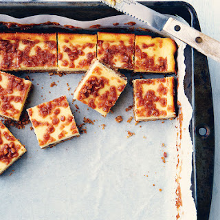 Toffee Cheesecake Squares