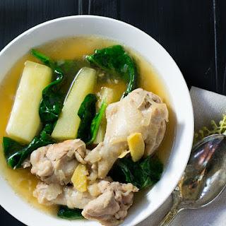 Chicken Tinola.