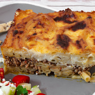 Macaroni and Veal Casserole (Greek Pastitsio)