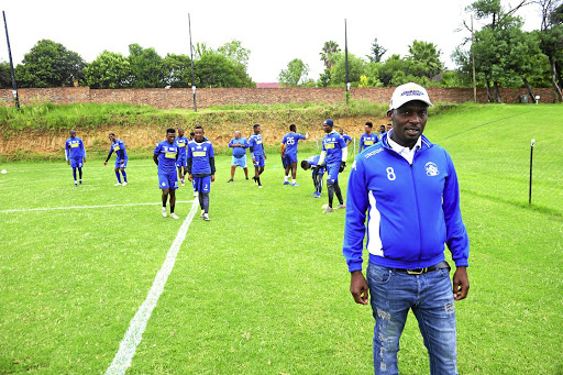 Baberwa chairman Joe Seanego says contrary to word on the streets, his club is not rich but relies on donors for survival. /Veli Nhlapo