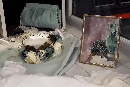 Jeanne PAPA aquarelles_jeux de dames 2019_vitrine Cario _03