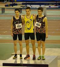 Photo: Thibaut Vice Champion d'Aquitaine Minimes 1000 m, Corentin 3ème