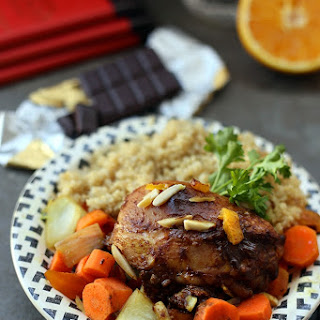 Baked Moroccan Chocolate Chicken