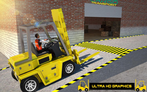 Forklift Games: Rear Wheels Forklift Driving 1.02 screenshots 3