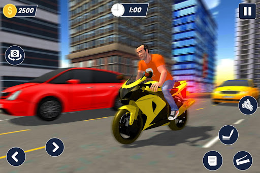 Bike parking 2019: Motorcycle Driving School filehippodl screenshot 9