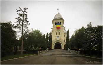 Photo: Turda - Piata Republicii - spatiu verde din fata catedralei  - 2019.04.30
