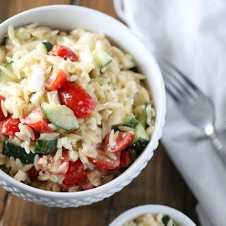 Orzo Tomato Cucumber Feta Salad Recipes
