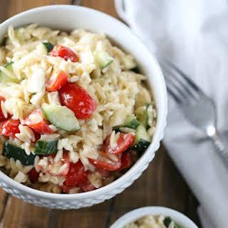 Orzo Salad.