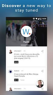 uWhisp - Radio Audio News- screenshot thumbnail