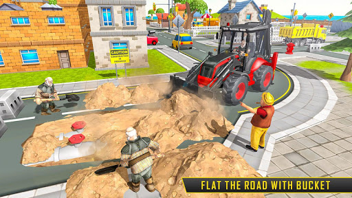 Heavy Excavator Sim 2020: Construction Simulator apklade screenshots 2