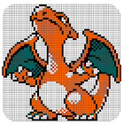 Color by Number - Pokeé coloring pages icon